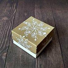 Krabičky - Krabička darčeková vianočná - 10223652_