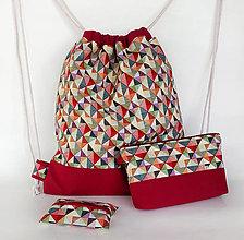 Batohy - Sada batoh + taštička + puzdro - 10226420_