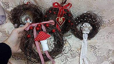 Dekorácie - Veniec vianočný detský - 10227226_
