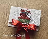 Papiernictvo - Vianočná obálka na peniaze - rôzne druhy - 10227181_