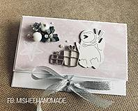 Papiernictvo - Vianočná obálka na peniaze - rôzne druhy - 10227188_