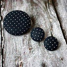 Sady šperkov - Náušky a brošňa
