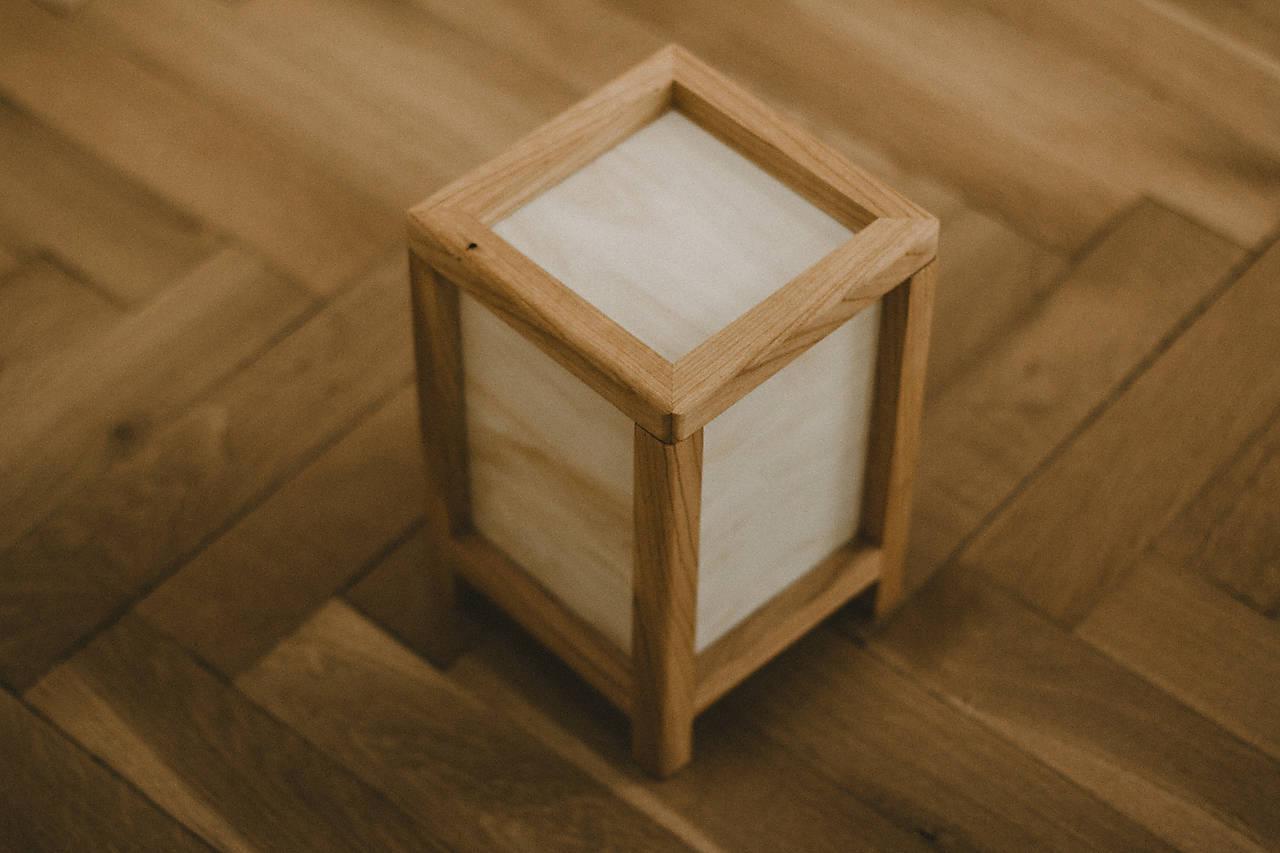 Japonská Shoji Lampa