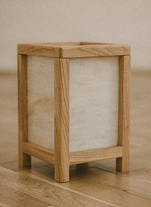 Svietidlá a sviečky - Japonská Shoji Lampa - 10223791_