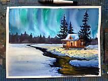 Zimná rozprávka - obraz