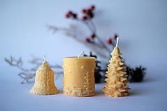 Svietidlá a sviečky - Sada vianočných sviec * s vôňou * - 10225775_