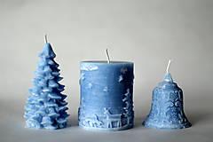 Svietidlá a sviečky - Sada vianočných sviec * s vôňou * - 10225800_