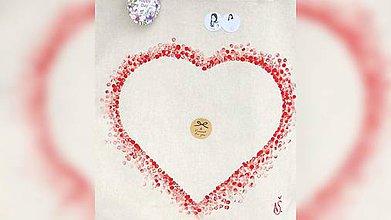 Iné tašky - ♥ Plátená, ručne maľovaná taška ♥ - 10225768_