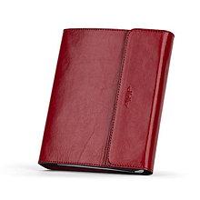 Papiernictvo - Kožený zápisník / karisblok ZMEJSS - A5 (Červená) - 10224346_