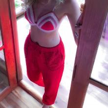 Nohavice - Saténové pyžamové nohavice rôzne farby - 10223803_