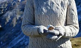 Dekorácie - Perníková chalúpka - sada 3 ks - 10226284_