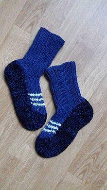 Obuv - ponožky veľ.37-38 (37-38 - Modrá) - 10225149_