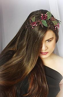 Ozdoby do vlasov - Inspirace přírodou čelenka - 10223563_