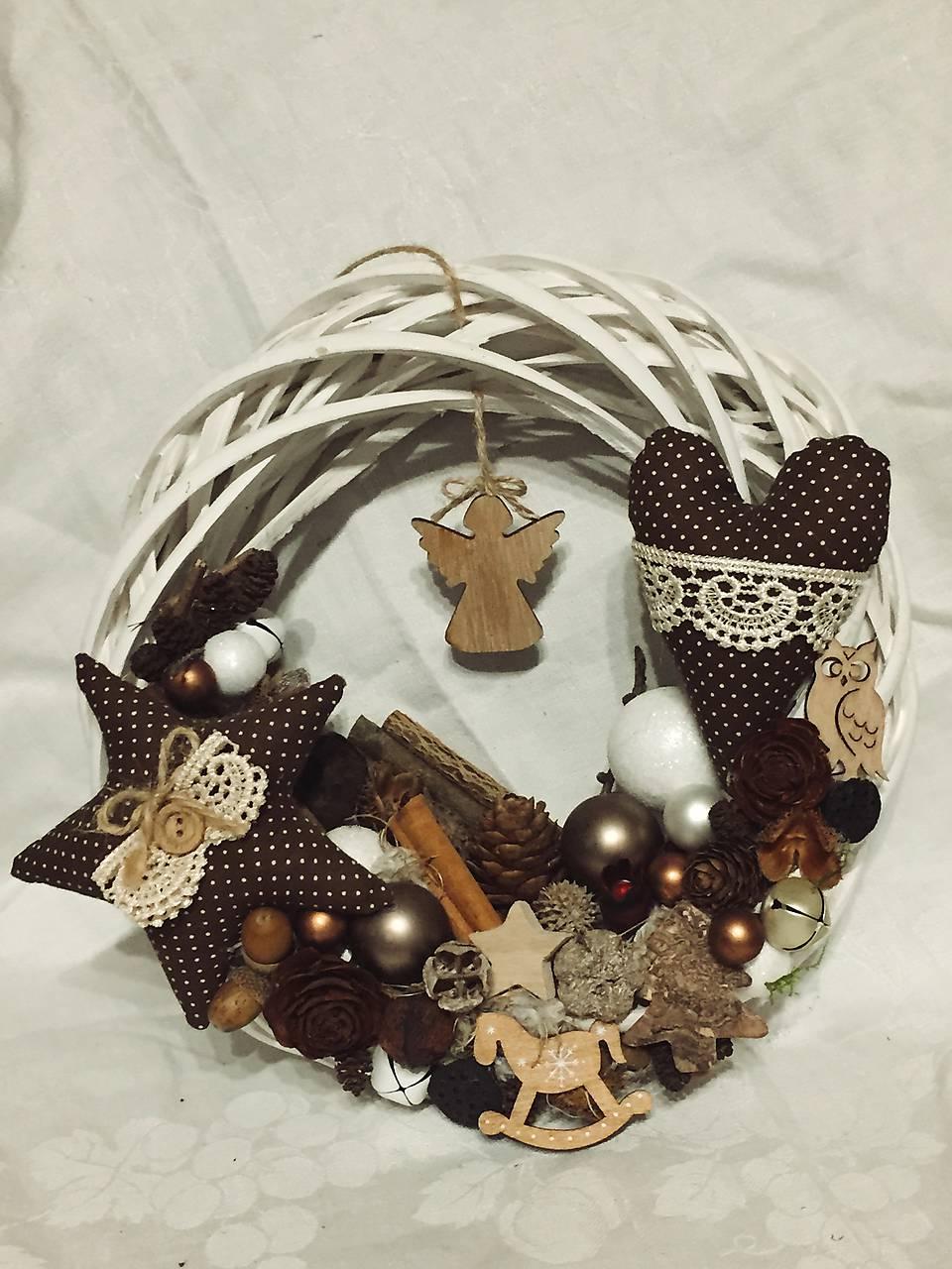 119320819 Vianočný veniec / norapredaj - SAShE.sk - Handmade Nezaradené