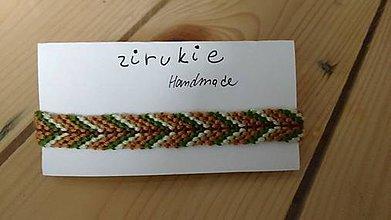 Náramky - Handmade woven Friendship Hippy Boho Bracelet (#60) - 10224887_