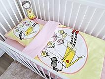 Textil - Sada - dievčatko s motýľmi - 10224840_