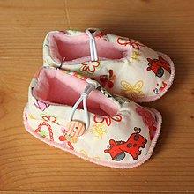 Topánočky - Capačky ružové - 10224659_