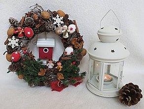 Dekorácie - vianocny veniec - zlava - 10225971_