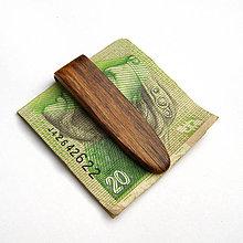 Tašky - Orechová spona na peniaze - 10223625_