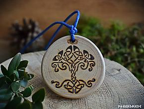 Náhrdelníky - Keltský stromček - 10230460_