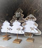 Dekorácie - Vianočný stromček s podstavčekom - 10230482_