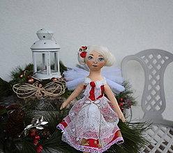 Bábiky - Vianočná víla/anjelka - 10230015_