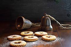 Dekorácie - Vianočný zvonček z orechového dreva - 10228429_
