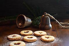 Dekorácie - Vianočný zvonček z orechového dreva - 10228431_
