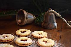 Dekorácie - Vianočný zvonček z orechového dreva - 10228433_