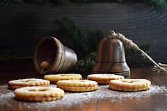 Dekorácie - Vianočný zvonček z orechového dreva - 10228448_