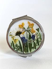 Zrkadielka - Zrkadlo lúčne kvety sedmokráska / A2 - 10228766_