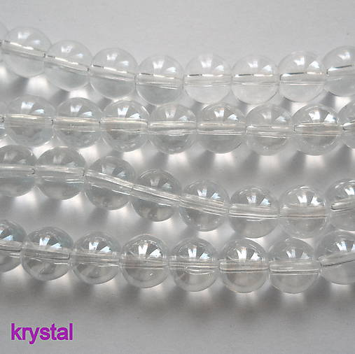 CrystaLine Beads™-8mm-1ks (krystal)