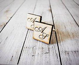 Šperky - Manžetové gombíky - 10230591_