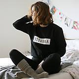Mikiny - Mikina Bosorka (Čierna) - 10229706_