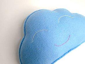 Textil - Hrejivý vankúš (Obláčik) - 10227820_