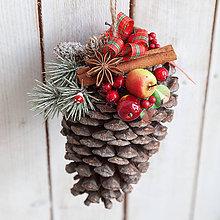 Dekorácie - Vianočná dekorácia ... vianočná šiška ...maxi - 10231162_