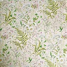 Textil - letná lúka režná, pevná zmesová látka, šírka 140 cm - 10229980_
