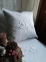 Úžitkový textil - Vianočný vankúš  - 10230175_