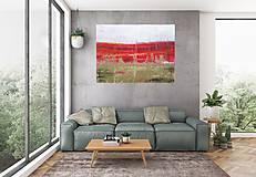 Obrazy - Horúci mráz - XL štrukturovaný abstrakt - 10228753_
