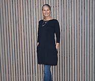 Šaty - Šaty...černé...( lze i modré ) - 10229024_