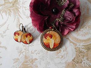 Sady šperkov - Secesná lady - 10229986_