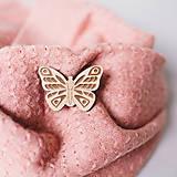 Odznaky/Brošne - motýľ ~ brošňa - 10230267_