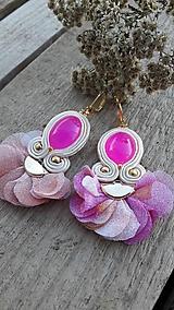 Náušnice - Pink - 10227833_