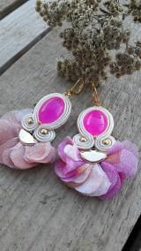 Náušnice - Pink - 10227834_
