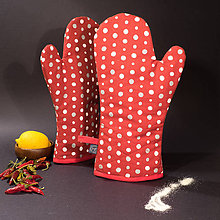 Úžitkový textil - Chňapka - Bodka - 10228555_