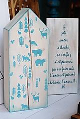 Dekorácie - Domček pre zvieratká z nórska :) - 10227649_