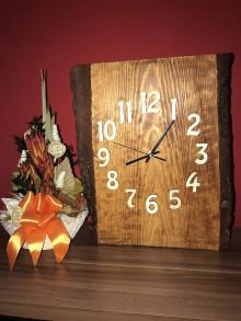 Hodiny - Drevené hodiny - 10228758_