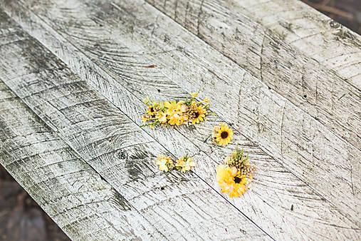 """Kvetinový set """"dotyky slnka"""""""