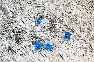 """Ozdoby do vlasov - Kvetinový setík """"ranná inovať"""" - 10228574_"""