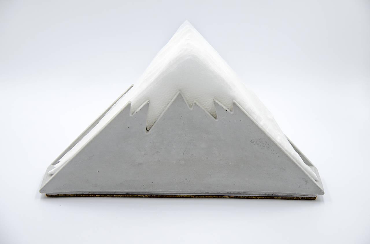 Pomôcky - Betónový stojan na servítky Montis (Šedá) - 10228935_